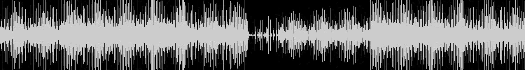 【ループ対応】低音が効いた無機質ビートの未再生の波形
