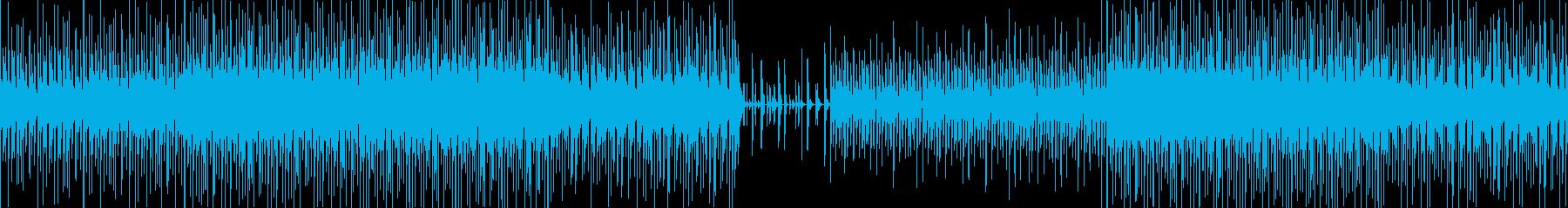 【ループ対応】低音が効いた無機質ビートの再生済みの波形