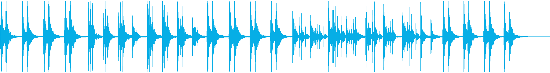 ピアノヒーリング 和風 月夜 紅葉 水面の再生済みの波形