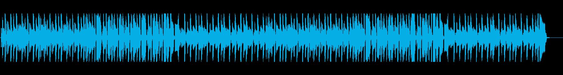 ほのぼのリコーダーの跳ねるようなポップスの再生済みの波形