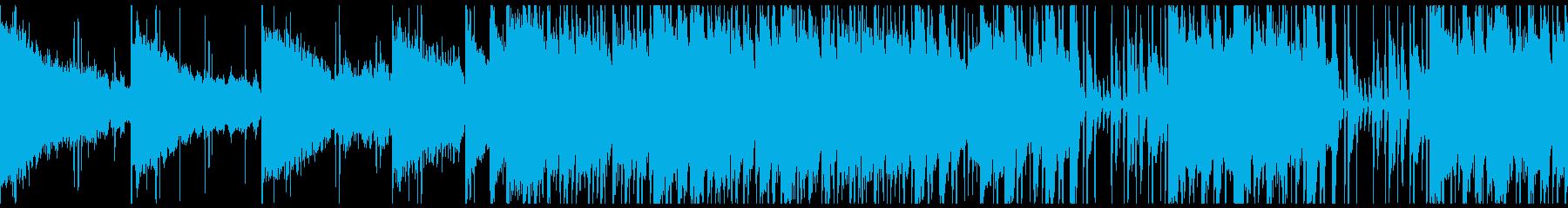 大人の雰囲気のバー・ラウンジR&Bの再生済みの波形