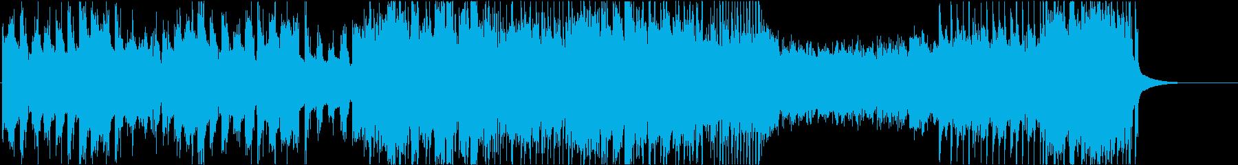 ドラマチックチップチューン ショート①の再生済みの波形