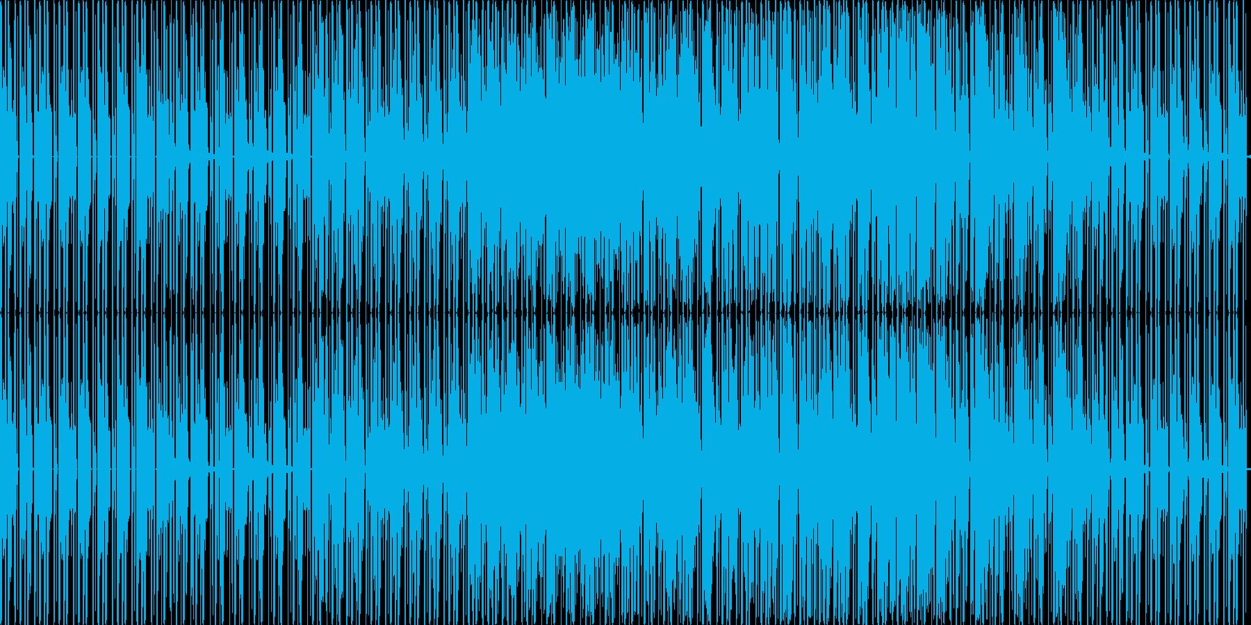 テクノですの再生済みの波形