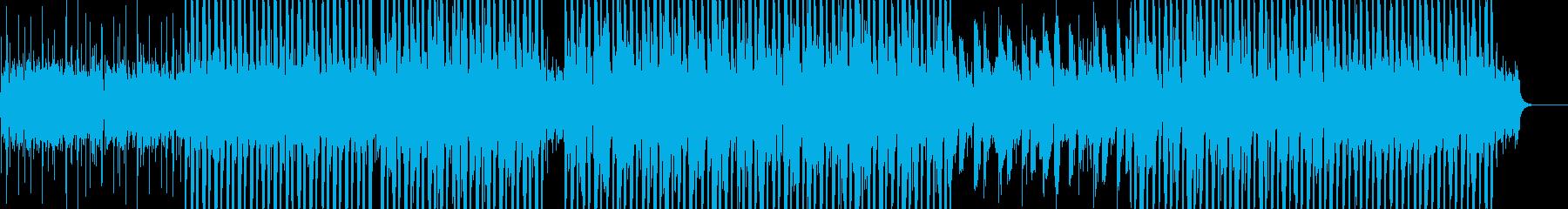 ゆったり4つ打ち 甘いギターアルペジオの再生済みの波形