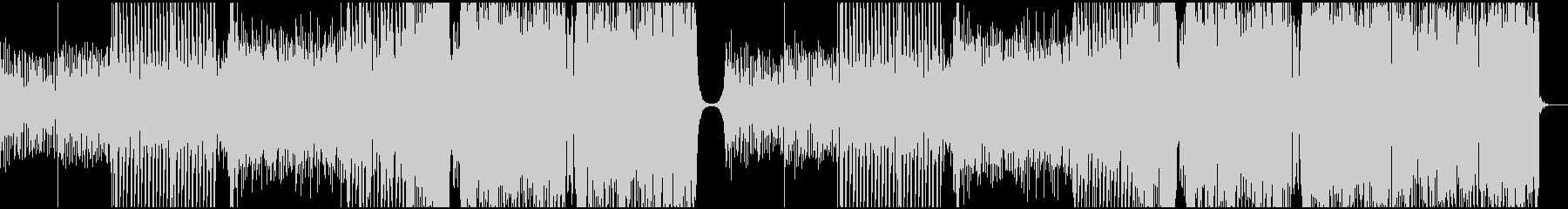 切ないメロディから爆発的に上がるEDMの未再生の波形