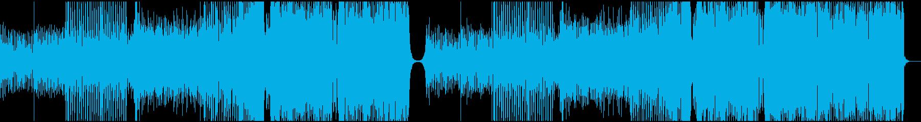 切ないメロディから爆発的に上がるEDMの再生済みの波形