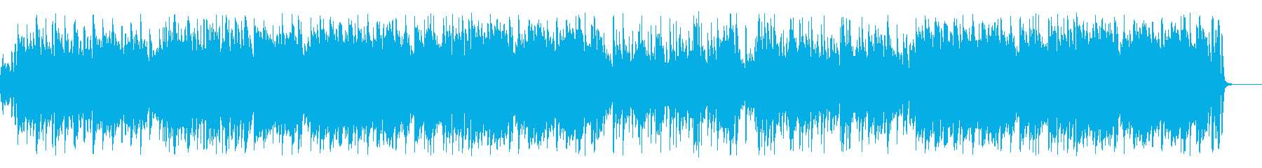 ノスタルジックでお洒落なアコーディオンの再生済みの波形