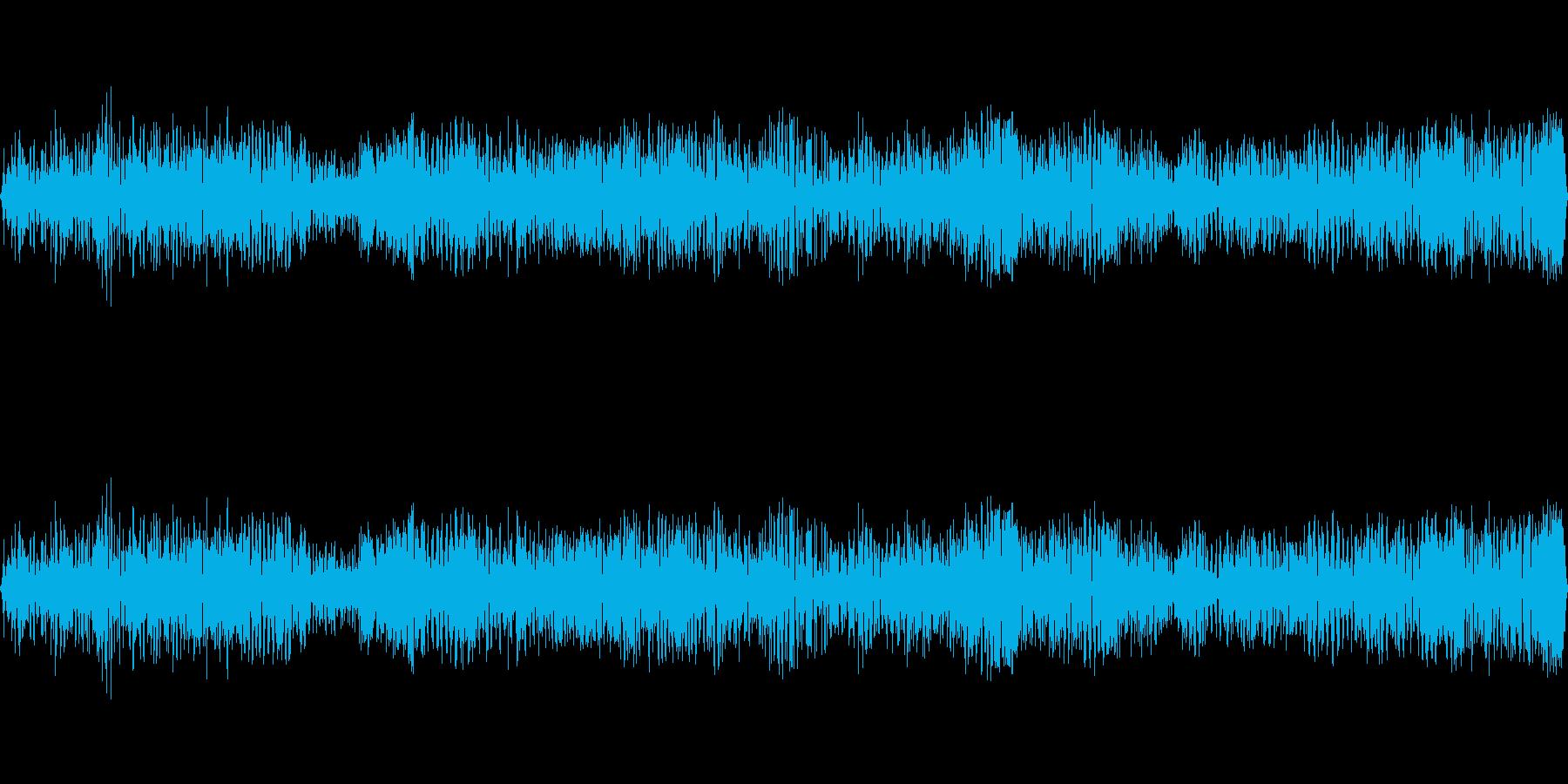 忙しいバットコロニースコーキングの再生済みの波形