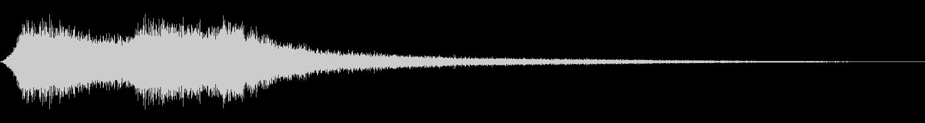 シンバル5フライバイの未再生の波形