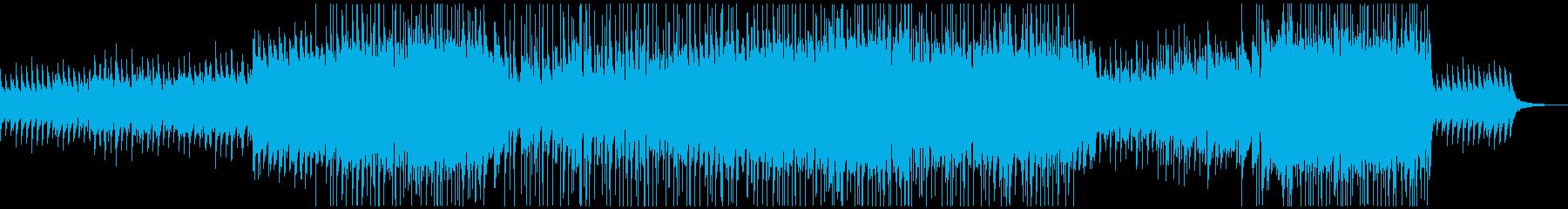 爽やかなカントリーポップの再生済みの波形