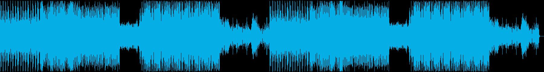 いろいろ使えるドラムンベースの再生済みの波形