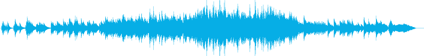 Reminiscence Pianoの再生済みの波形