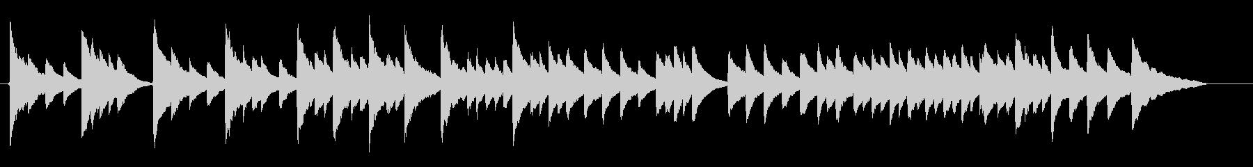 静か穏やか子守唄【ビブラフォンソロ】の未再生の波形