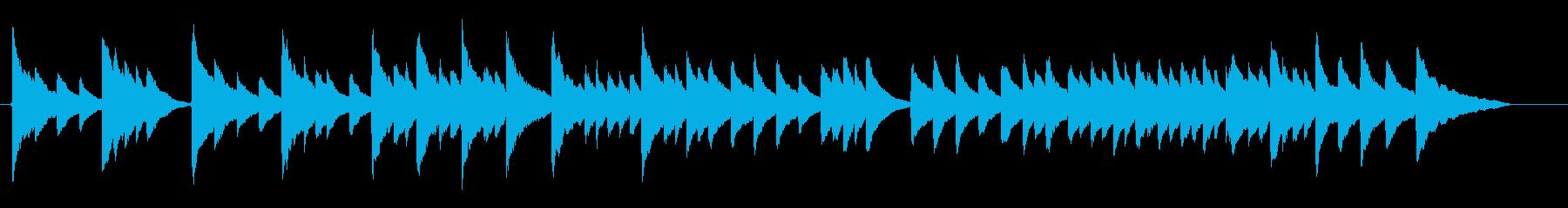 静か穏やか子守唄【ビブラフォンソロ】の再生済みの波形
