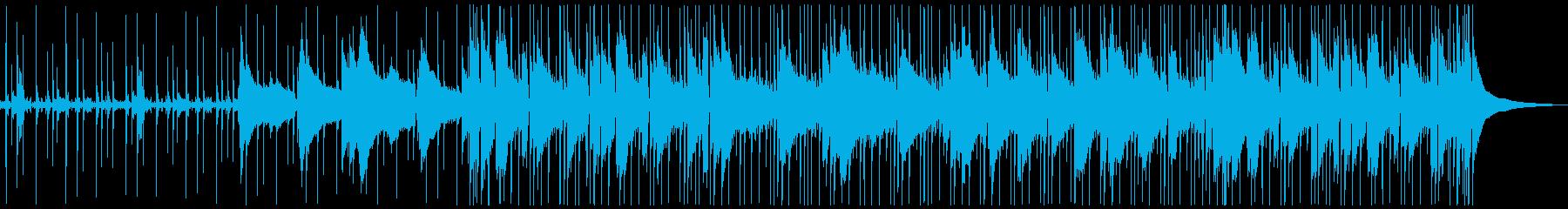 アコースティックギターをフィーチャ...の再生済みの波形