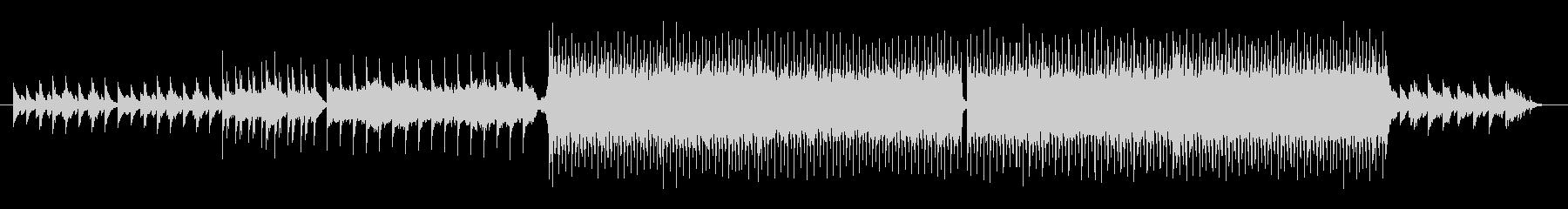 凛とした雰囲気のあるピアノバラードの未再生の波形
