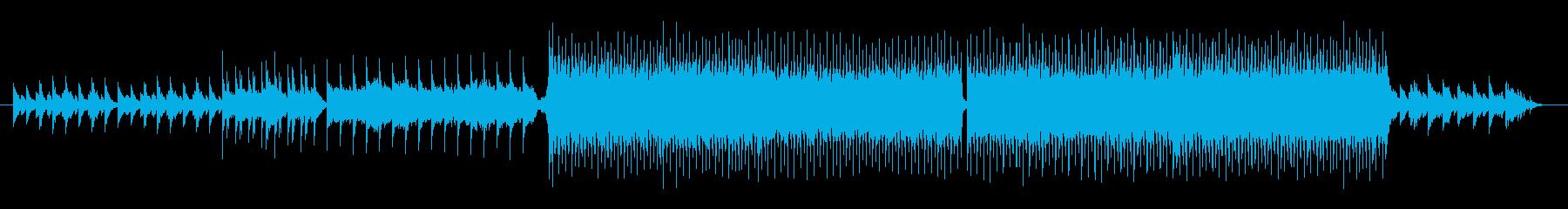 凛とした雰囲気のあるピアノバラードの再生済みの波形