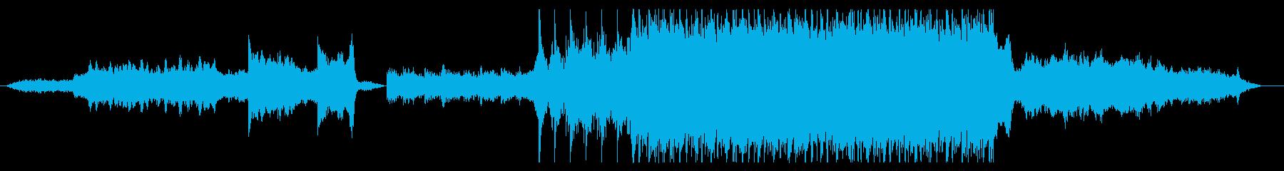 映画音楽のようなオーケストラの再生済みの波形