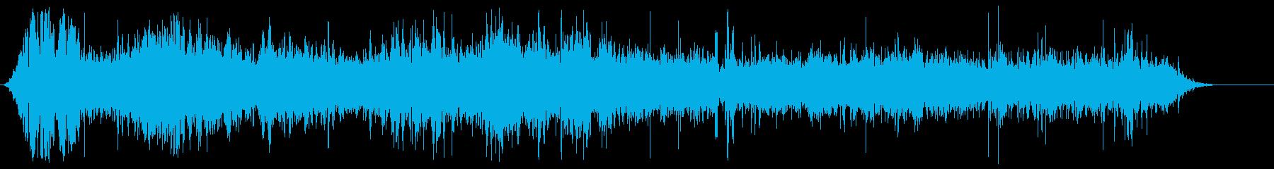 サンフェルミンのBus騒の再生済みの波形