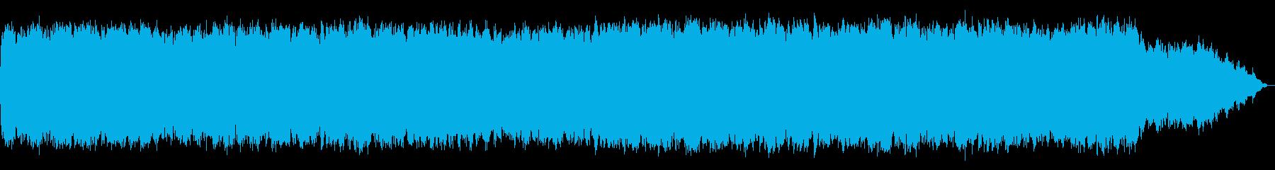民族的な笛のフレーズの音楽の再生済みの波形
