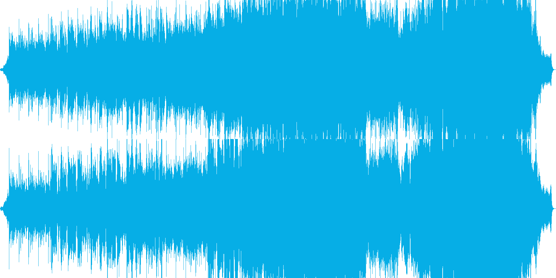 物悲しい雰囲気のバラード4の再生済みの波形