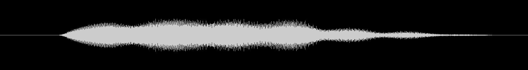 特撮 ホログラム表示12の未再生の波形