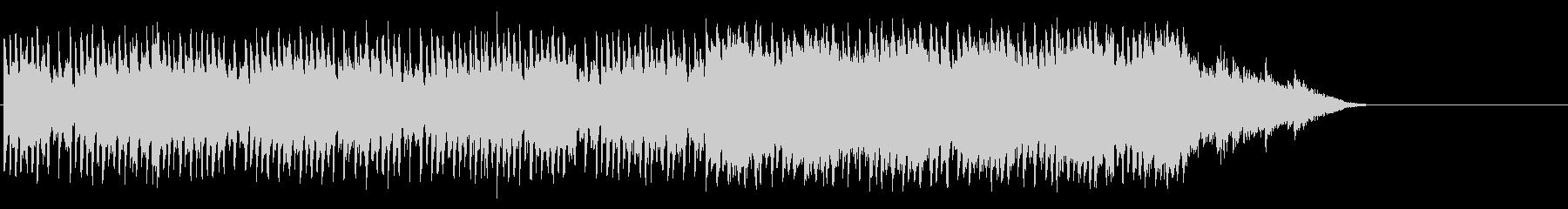 出発のエンドBGM(A~サビ~エンド)の未再生の波形