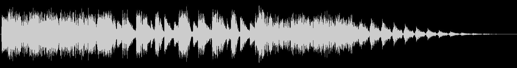 リフビーツの未再生の波形