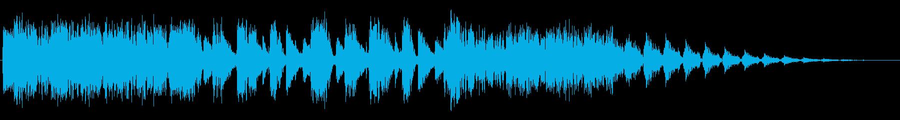 リフビーツの再生済みの波形