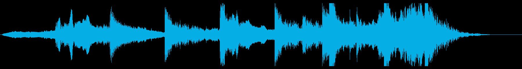 ホルンストリングスから始まるオープニングの再生済みの波形