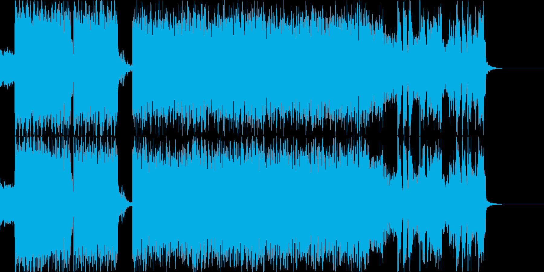 【戦闘等】ピコピコなロック×ダブステップの再生済みの波形