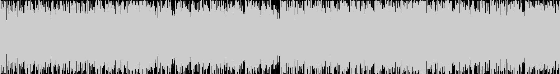 爽快で感動的な映像に効果的 Loop1の未再生の波形