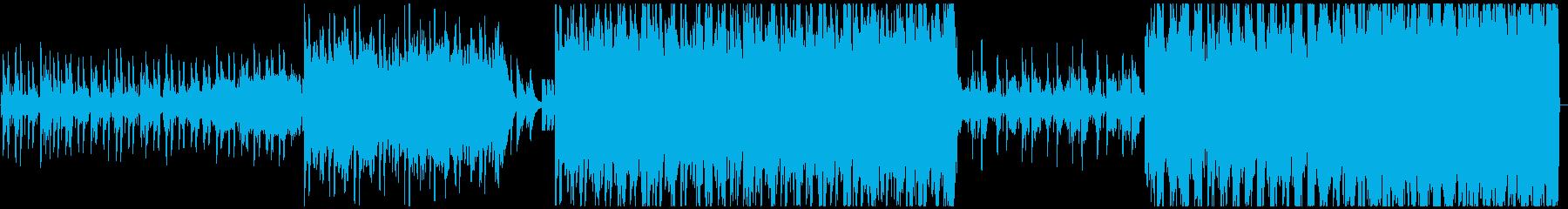 キラキラ可愛くお洒落なエレクトロニカの再生済みの波形