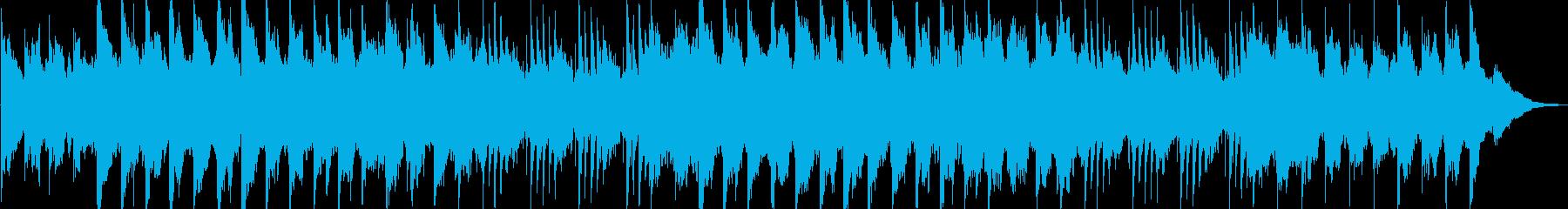 幻想的で感動的なバラードの再生済みの波形