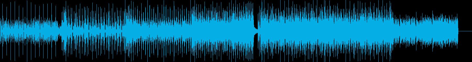 洋楽、K-POP、トラップソウル aの再生済みの波形