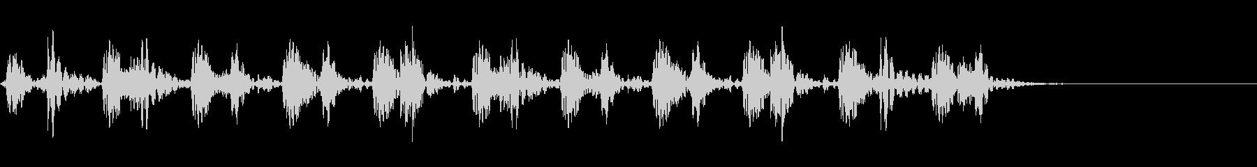 アコースティックベース:ホースギャ...の未再生の波形