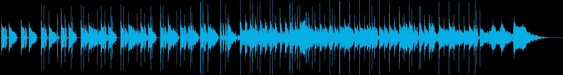 アコースティックギター生音・カフェ・午後の再生済みの波形