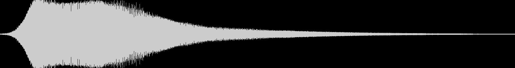 アーケードがスカイチェイスでスタートの未再生の波形