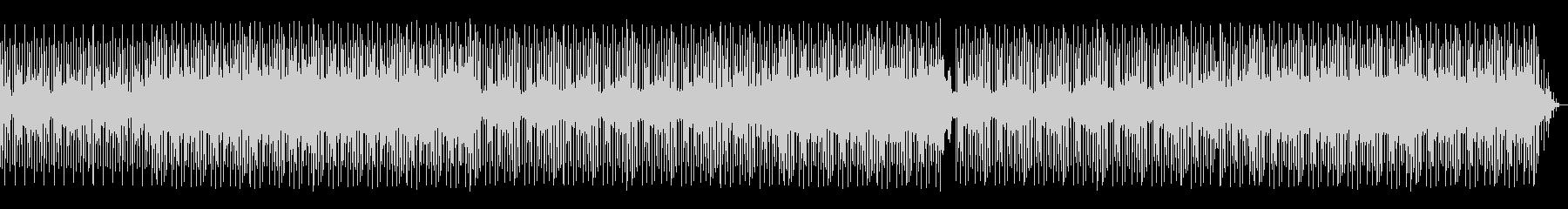 ジャズヒップホップっぽいトラックの未再生の波形