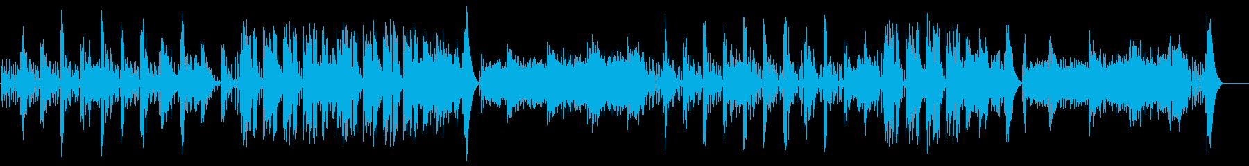 ドキュメンタリー系 物理学実験風サウンドの再生済みの波形