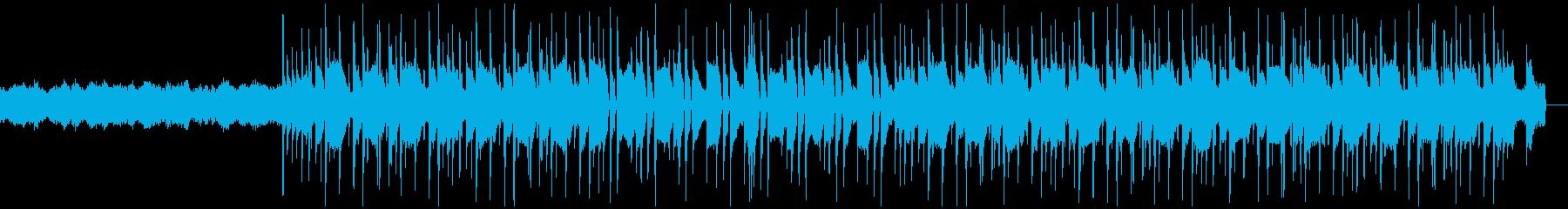 ノスタルジック Lo-fi HipHopの再生済みの波形