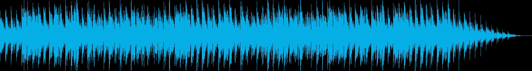 アコースティックアレンジの洋楽風ポップスの再生済みの波形