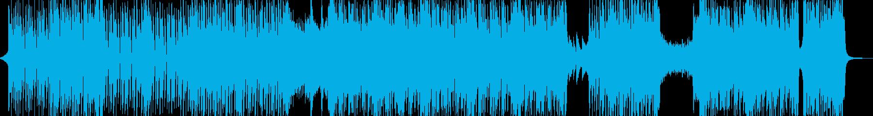 明るくカラフル☆ハッピーチューン 短尺★の再生済みの波形