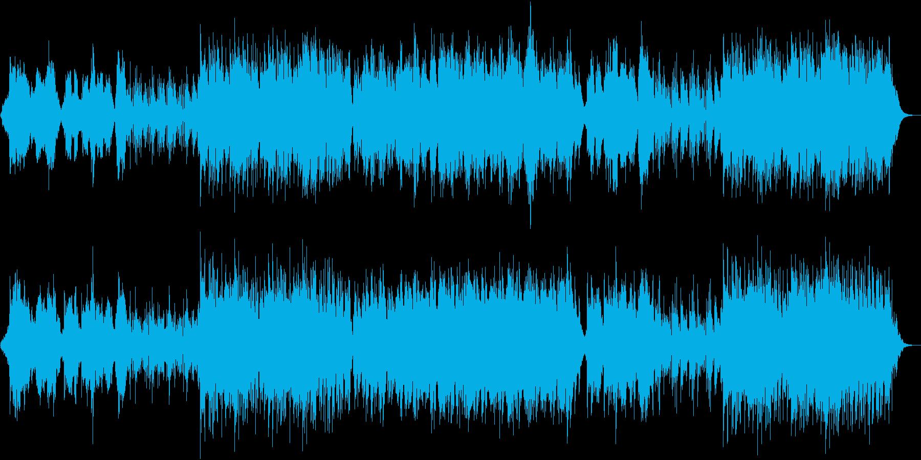 ケルトの風を感じるユッタリしたサウンドの再生済みの波形