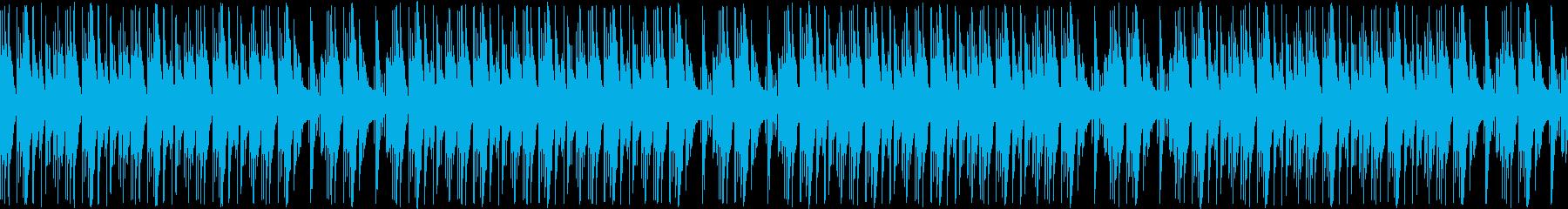【ダンジョン/工場/ゲーム/BGM】の再生済みの波形