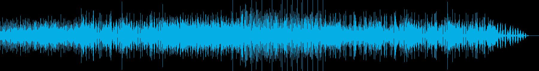 気怠い雰囲気から明るいポップへの変化の曲の再生済みの波形