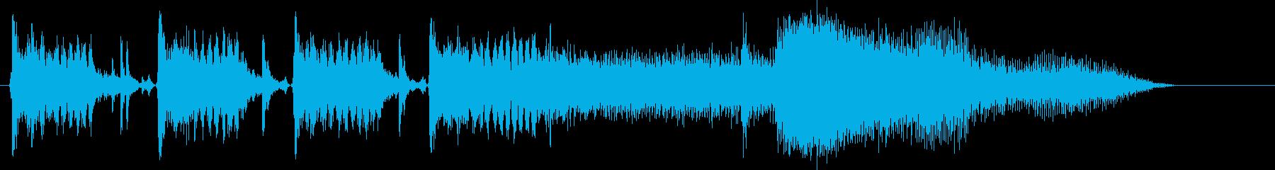 自動車;スタート/アウェイ; 19...の再生済みの波形