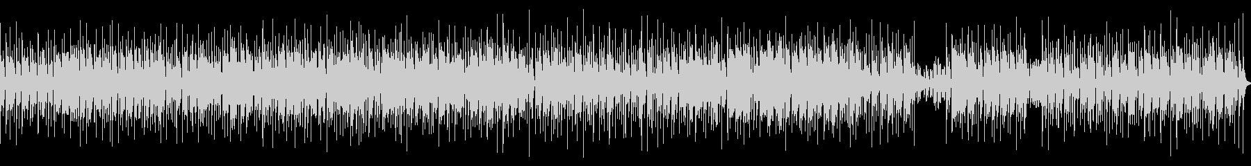 コミカル、インド、エスニックな曲の未再生の波形