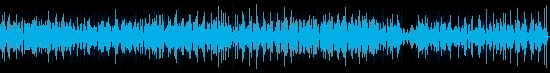コミカル、インド、エスニックな曲の再生済みの波形