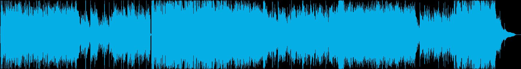 哀愁ただよう男性ボーカルのバラードの再生済みの波形
